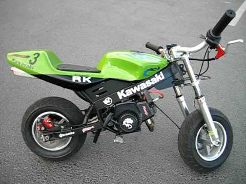 My Pocket Bike Voll Tuning Youtube