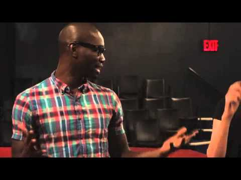Tarell McCraney talks about writing, Shakespeare and his play Choir Boy