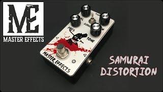 Master Effects - Samurai Distortion playthrough