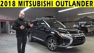2018 Mitsubishi Outlander Exterior & Interior Walkaround