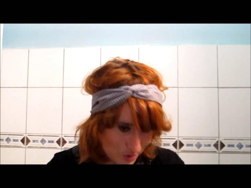 Tuto comment porter le bandeau modulable youtube - Comment porter le headband ...