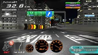Wangan Midnight Maximum Tune 5 full wangan run SA22C (60 km)
