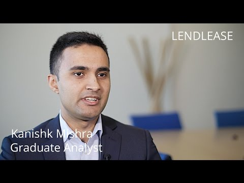 How to become a Graduate Analyst at Lendlease