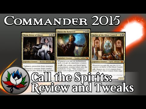 """Orzhov """"Call the Spirits"""" Commander 2015 Deck Tech and Upgrades featuring Daxos and Karlov – MTG!"""
