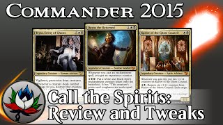 "Orzhov ""Call the Spirits"" Commander 2015 Deck Tech and Upgrades featuring Daxos and Karlov – MTG!"