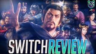 Romance of the Three Kingdoms 14 Switch Review (Video Game Video Review)