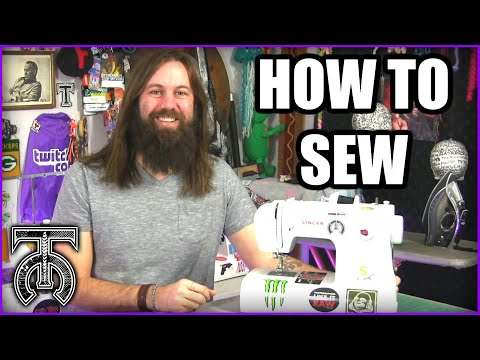Sewing For Beginners - How To Use A Sewing Machine - How To Sew