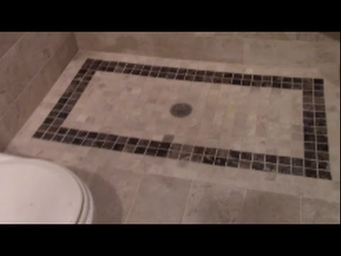 How To Build A Curbless Shower Youtube