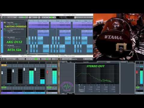 Shure Beta 52A vs AKG D112 Kick Drum Microphones