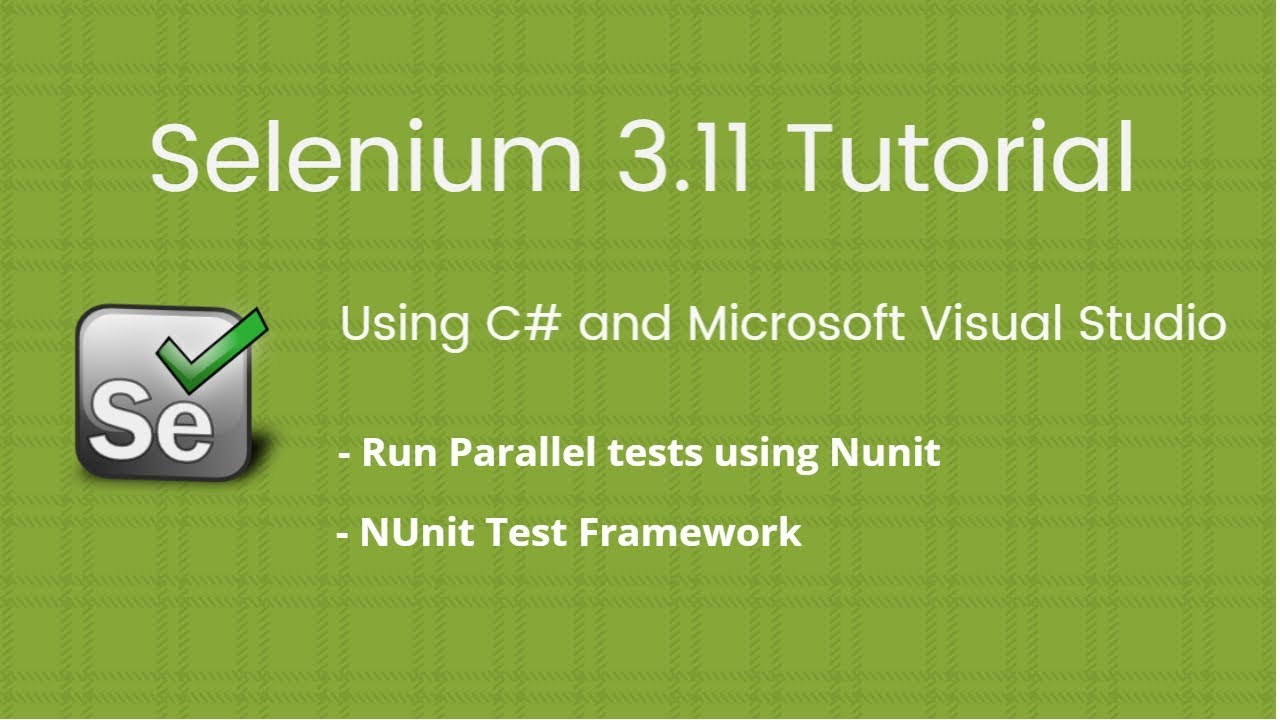 How to run nunit tests in visual studio 2017? Stack overflow.