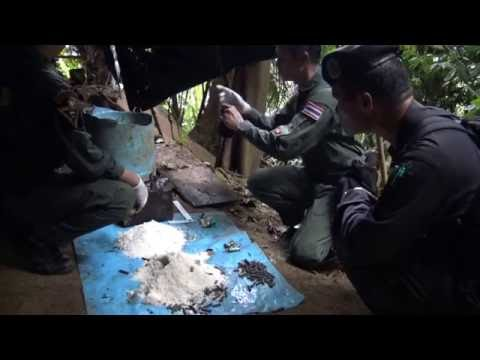 21มิย59 ทหารพรานระแงะยึดฐานโจรใต้พร้อมชุดEODยิงทำลายระเบิด
