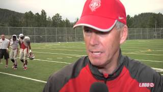 2013 Lobo Football | Coach Bob Davie: Post Ruidoso Scrimmage Press Conference