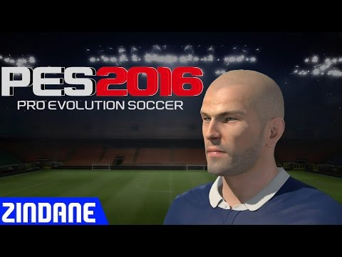 Pes 2016 Edit Face Zidane + Stats