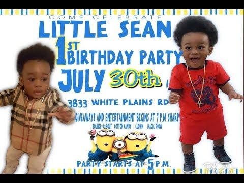 Shellyann CockUp Presents Little Sean 1st...
