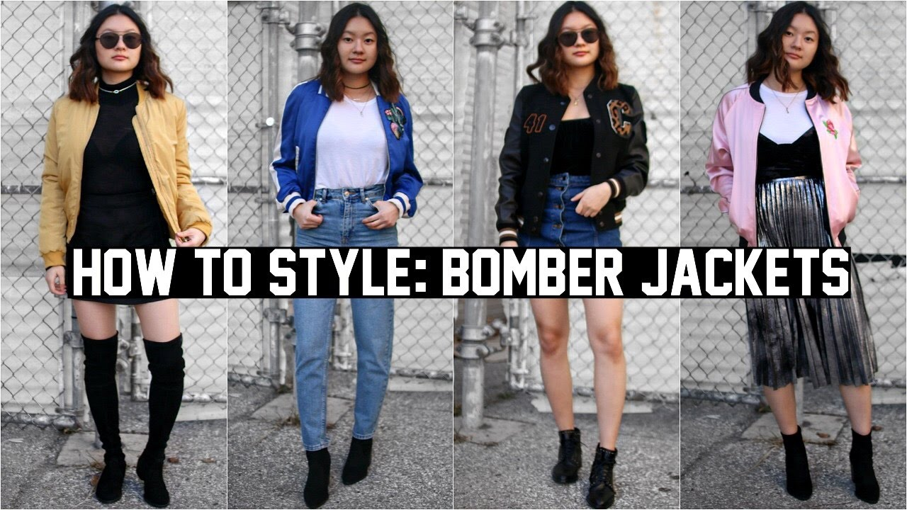 HOW TO STYLE: BOMBER JACKETS