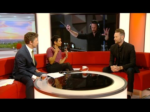 "Brian Tyler on BBC One ""BBC Breakfast"" show"