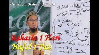 Download lagu Inilah Rahasia 1 Hari Hafal 1 Juz Metode At Taisir Bab Prioritas - Ustadz Adi Hidayat Lc. MA.
