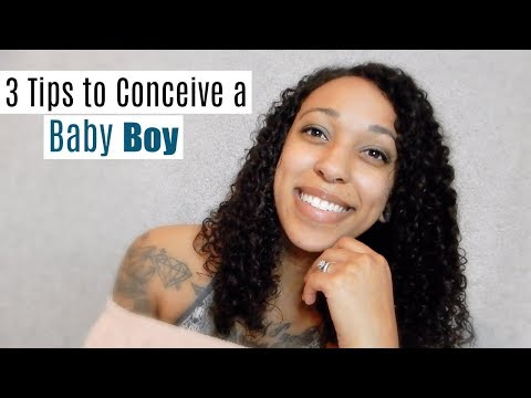 How to conceive a baby boy NATURALLY | TanaB