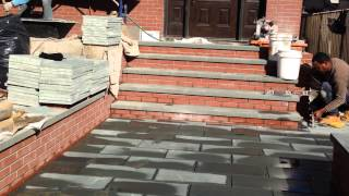 Bluestone Installation In Brooklyn New York -innovation Construction Co.