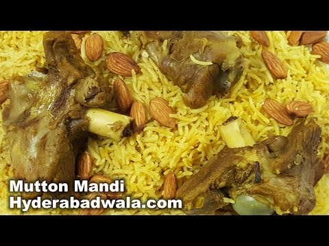 Mutton Mandi Recipe Video – How To Make Mutton Mandi At Home – Easy & Simple