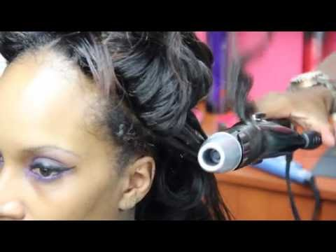 4 dollz only hair tutorial quick weave bob doovi for 4 dollz only salon