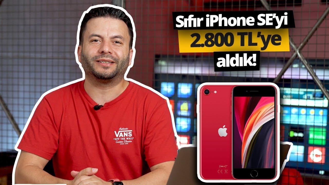 sifir ve garantili iphone se 2020 yi 2 800 tl ye nasil aldik eskisini hepsiburada ya sattik