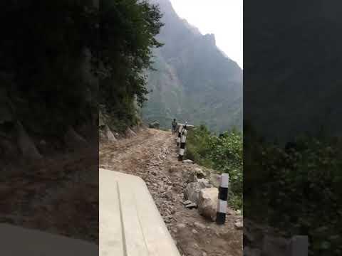 Download Danger road of manang / On the way to Lamjung besisahar to manang