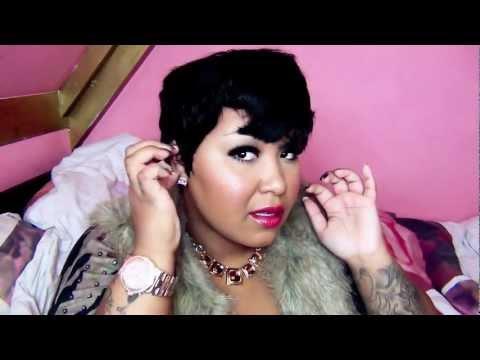 Diana Bohemian 100% HH Wig MYA (Styling+Review vid)
