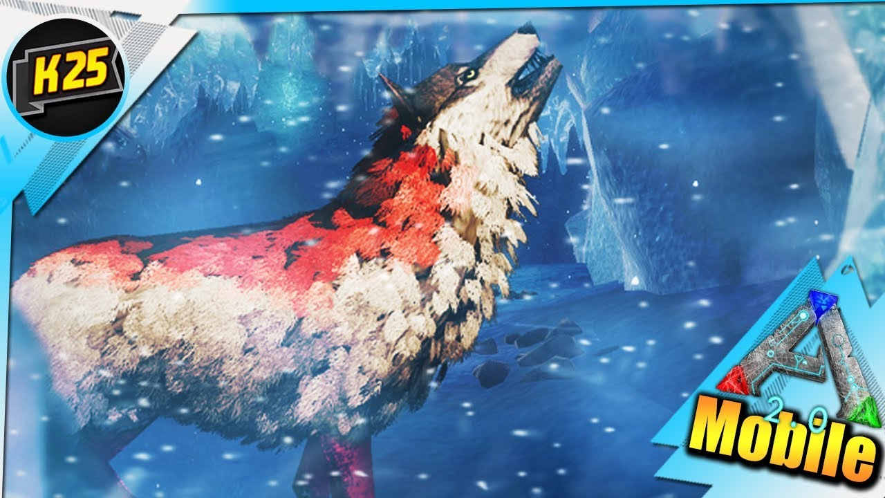 Frosted Den of the Wanderer LIVE!   Yup A NEW HARD ICE DUNGEON! RIP!   ARK MOBILE 2.0