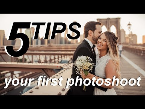 5 Tips For Your First Couple Photoshoot | Lighting, Posing, and more!