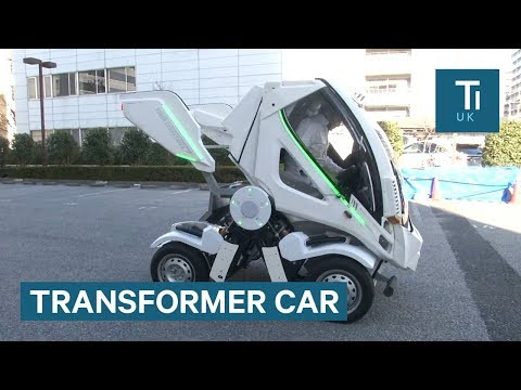 This 'Transformer' car folds so you can park in tight spaces
