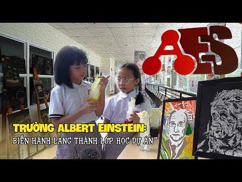 Trường Albert Einstein: Biến hành lang thành lớp học dự án