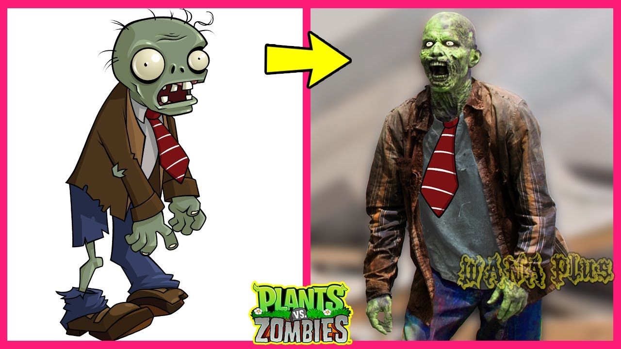Plants Vs Zombies All Characters In Real Life 2020 Wana