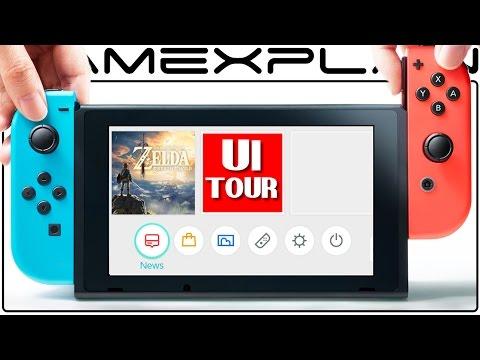 Nintendo Switch UI & Operating System Tour