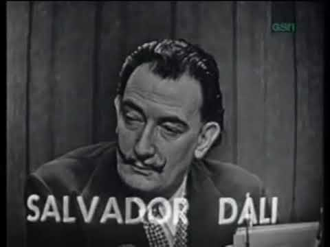 Salvador Dali on What s My Lin...
