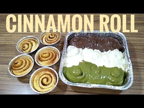 Resep cinnamon roll, roti kayu manis