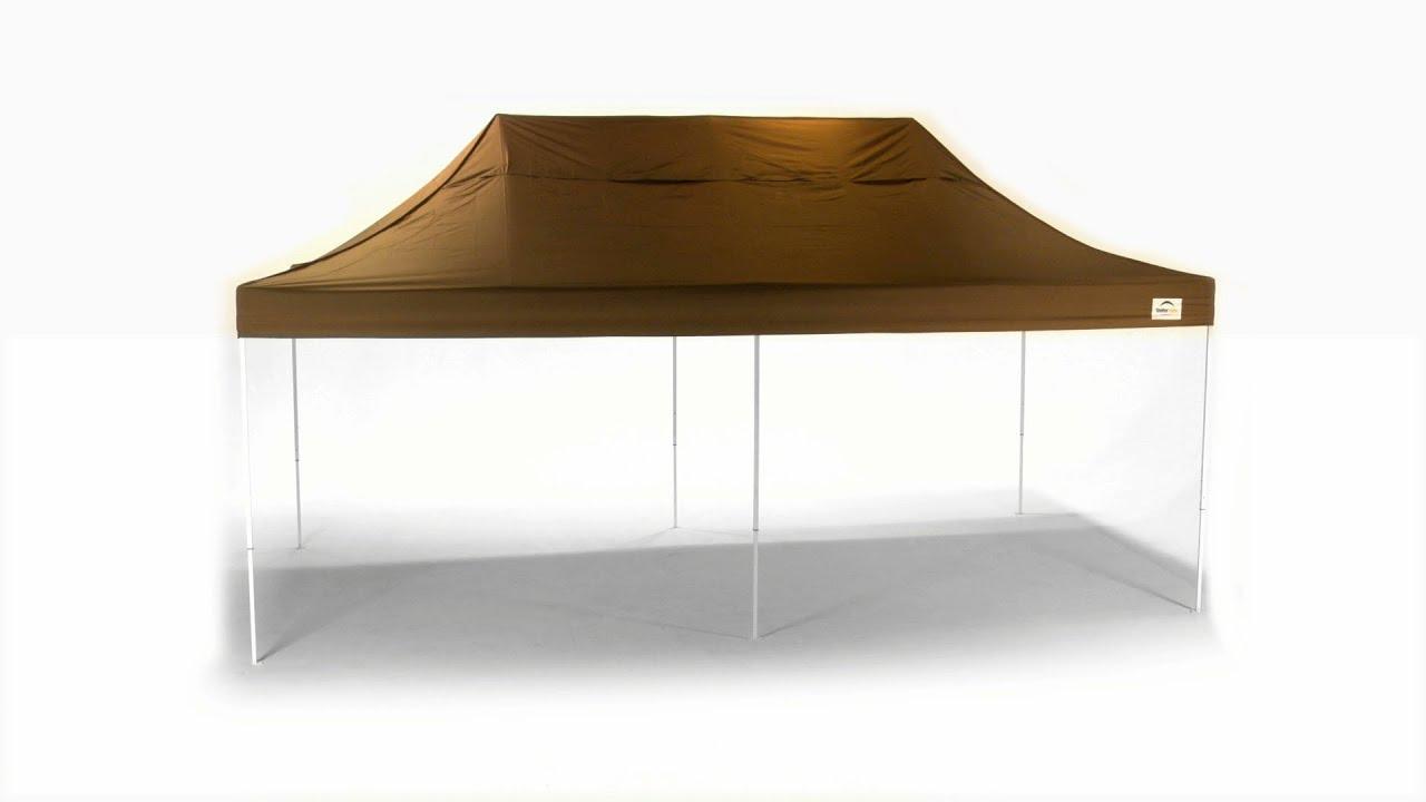 sc 1 st  YouTube & ShelterLogic® Straight Leg Pop-Up Canopy - YouTube