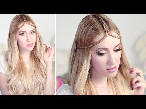 Summer hair tutorial ✿TIARA BRAID hairstyle for medium and long hair