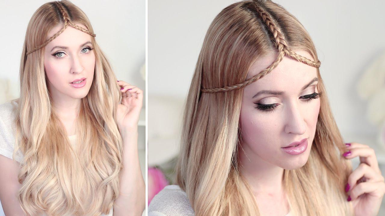 summer hair tutorial ✿tiara braid hairstyle for medium and long