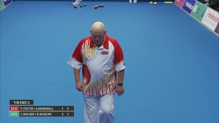 Just. 2019 World Indoor Bowls Championships: Day 4 Session 2
