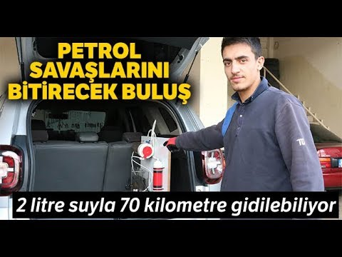 Petrol Savaşlarını Bitirecek Buluş, 2 Litre Suyla 70 Kilometre Gidiyor