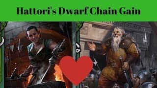 [Gwent] Hattori's Dwarf Chain Gain Guide
