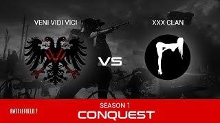 Battlefield 1   Zero Hour Game #1   XxX Vs VVv