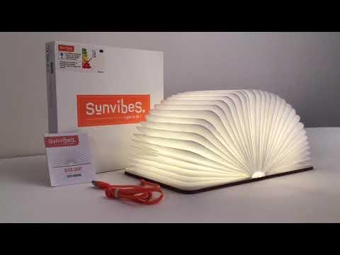 Sunvibes Livre Lumineux Book Light