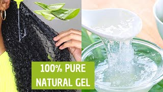 How To Make Pure Aloe Vera Gel &amp Store it For Months With No Preservatives  DIY