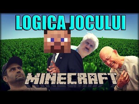 Logica jocului Minecraft (PARODIE)