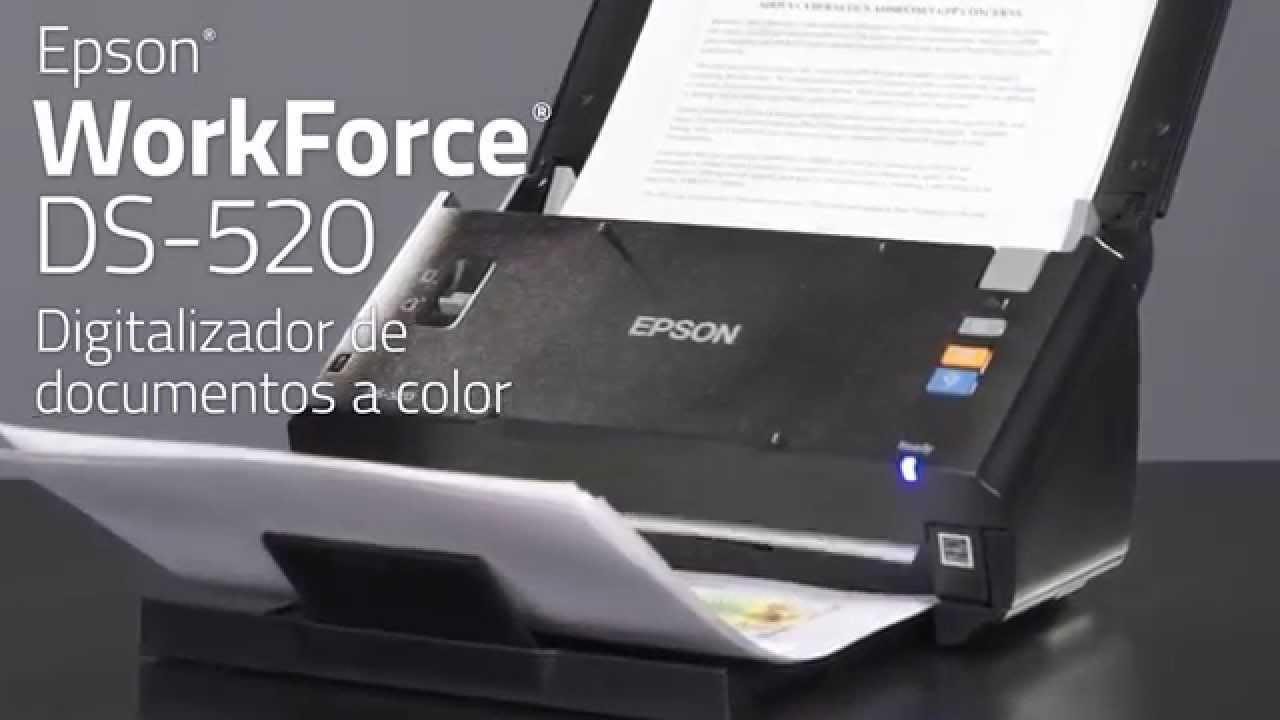 Epson WorkForce 520 Scanner XP
