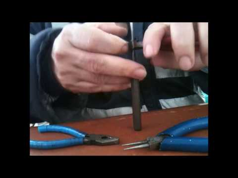 How to make  Fishing Rig Clips Links