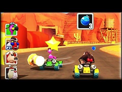 Go Kart Go! Ultra! - Game Walkthrough (all 1-9 races)