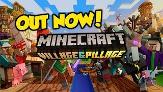 """""""Village & Pillage"""" Update OUT NOW - Minecraft 1.11 / 1.14"""